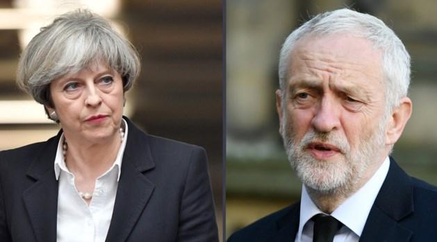 Britten naar de stembus: wordt het May of toch Corbyn?