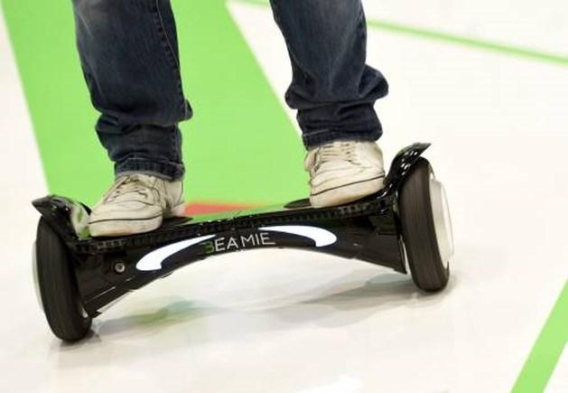 Veel botbreuken bij kinderen door hoverboard