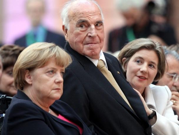 Oud-bondskanselier Helmut Kohl (87) overleden