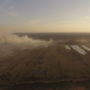 Rookoverlast voor bewoners door brand in natuurgebied