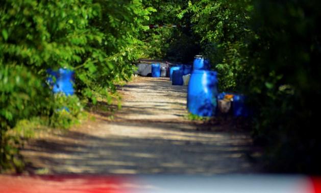 Drugsafval gedumpt in buitengebied tussen Venlo en Tegelen