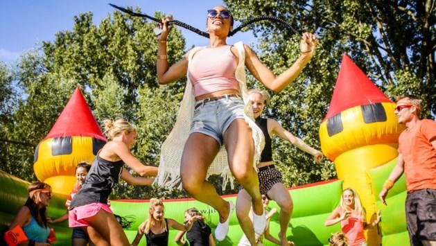 Grootste springkussen ter wereld komt naar Limburg