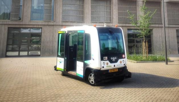 Proef met zelfrijdende bus op openbare weg in Vaals