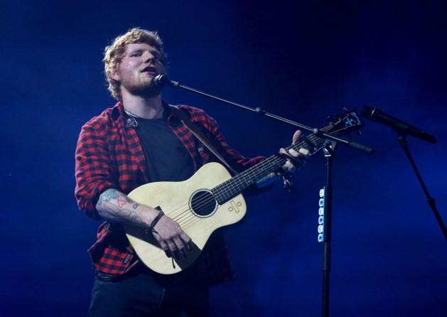 Honderd bomen zitten concert Ed Sheeran in de weg