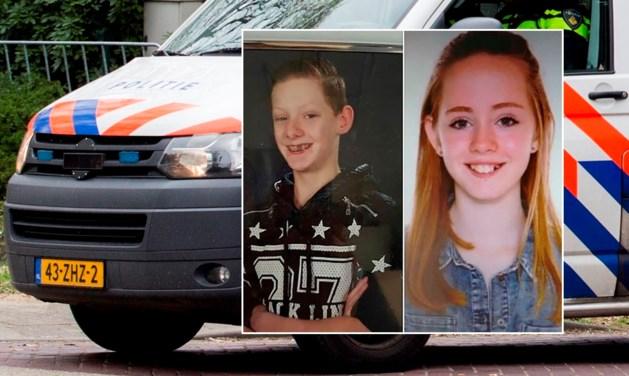 Vermiste tieners Mikey (15) en Christel (13) zijn weer terecht