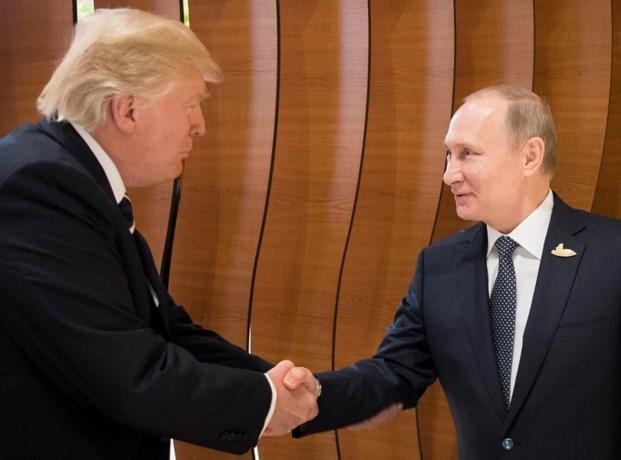 Trump en Poetin schudden elkaar de hand op G20