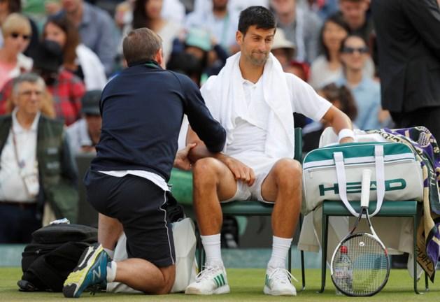 Wimbledon verliest met opgevende Djokovic opnieuw een favoriet