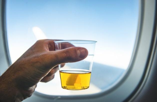 'Geen druppel drank meer in het vliegtuig'