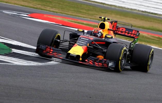Max op Silverstone: Buitenom bij Rosberg en in de botsauto's met Vettel