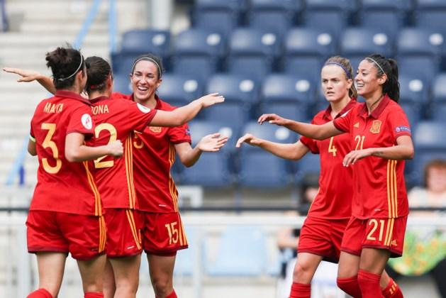 Spaanse dames verslaan Portugal op EK