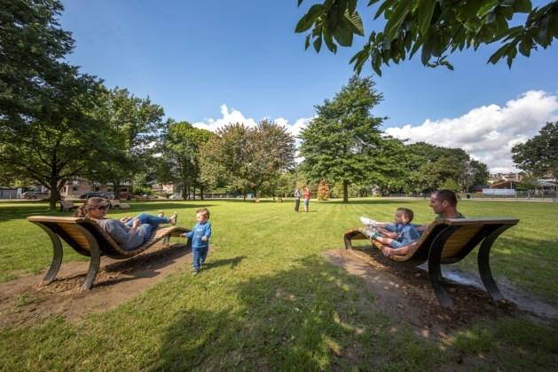 Tieëke Zinge in Hertenpark