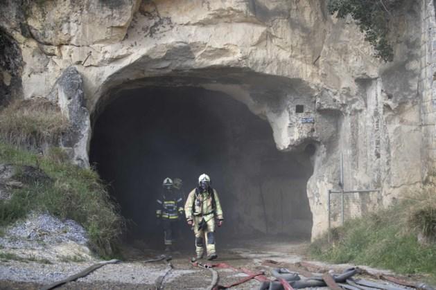 Justitie start onderzoek naar brandstichting mergelgrotten
