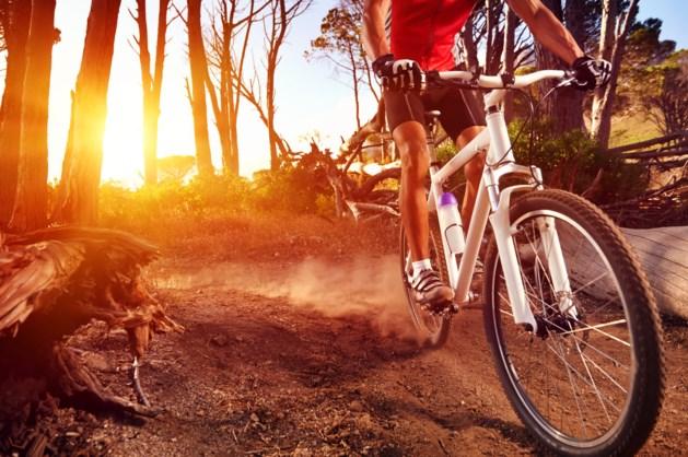 Mountainbiker bespoten met bijtende vloeistof in Kerkrade
