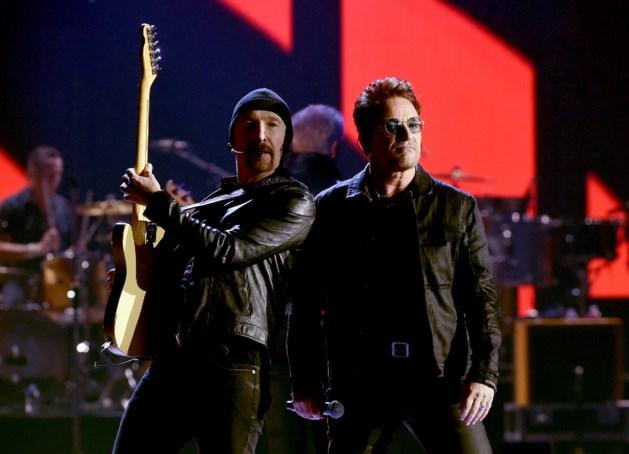 U2 neemt nieuwe videoclip op in Amsterdam