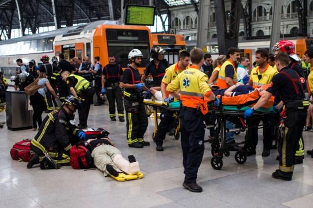 Treinongeluk in station in Barcelona: zeker 48 gewonden