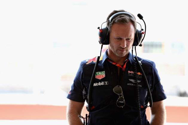 Baas Red Bull baalt, maar is blij met excuses Verstappen