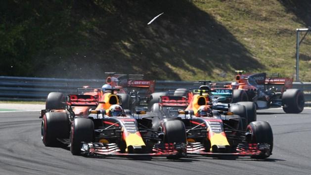 Verstappen maakt excuses aan teamgenoot Daniel Ricciardo