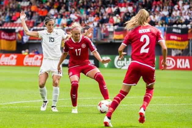 Duitsland uitgeschakeld in kwartfinale bij EK voetbal