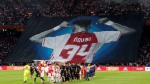 Indrukwekkend eerbetoon aan Ajacied Nouri