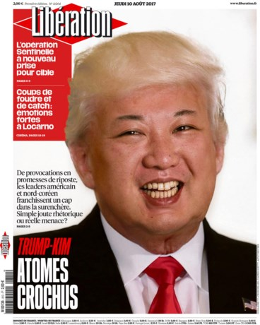 'Kim Jong Trump' is een virtuele hit