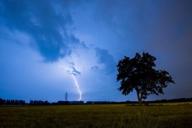 Opnieuw stevige regen- en onweersbuien in Limburg