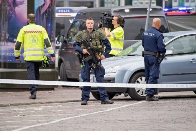 Finland beschouwt steekpartij als terreur, dader is 18-jarige Marokkaan