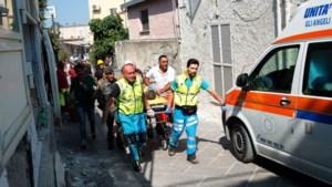Kinderen uit puin gered na aardbeving in Italië