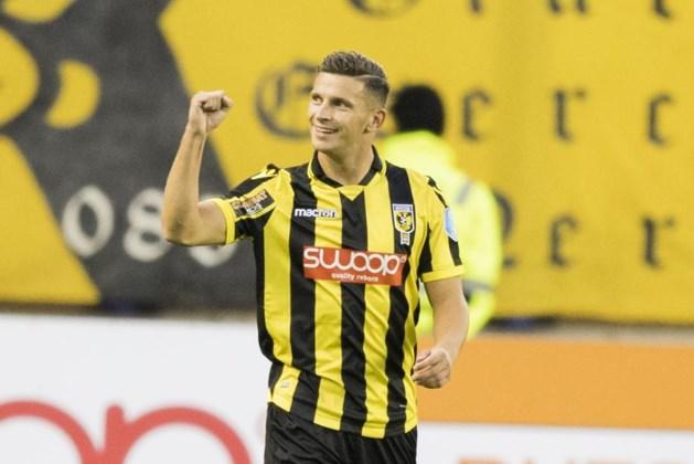 Bryan Linssen redt punt voor Vitesse tegen oude club