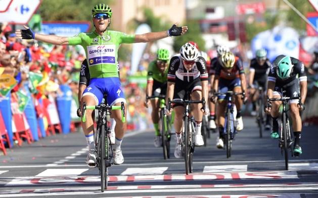 Trentin grijpt derde etappezege in de Vuelta