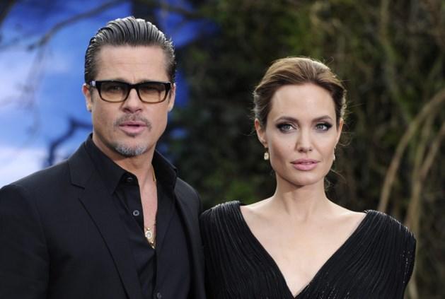 Toch geen breuk voor Angelina Jolie en Brad Pitt?