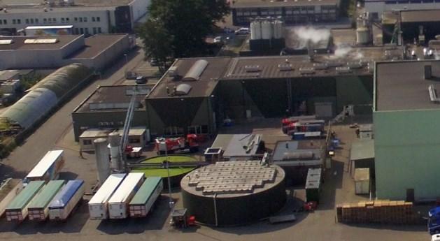 Duizend liter bakolie in brand bij aardappelverwerker Aviko in Lomm