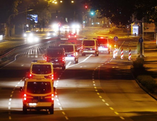 Immense evacuatie Frankfurt begonnen vanwege oorlogsbom