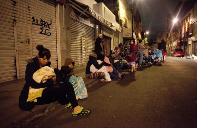 Mexico opgeschrikt door zeer zware aardbeving