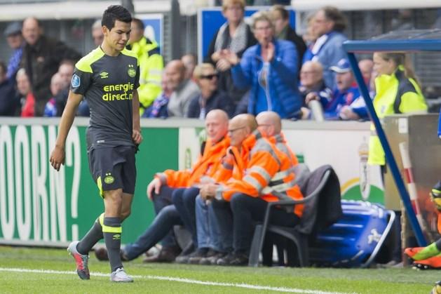 PSV gaat niet akkoord met schorsing Lozano
