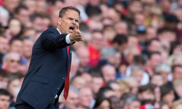 Crystal Palace bevestigt: Frank de Boer na 77 dagen alweer ontslagen