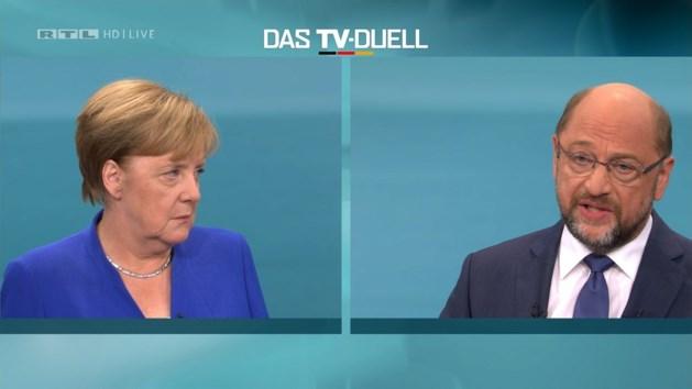 Schulz wil voor verkiezingen nog eens in debat met Merkel