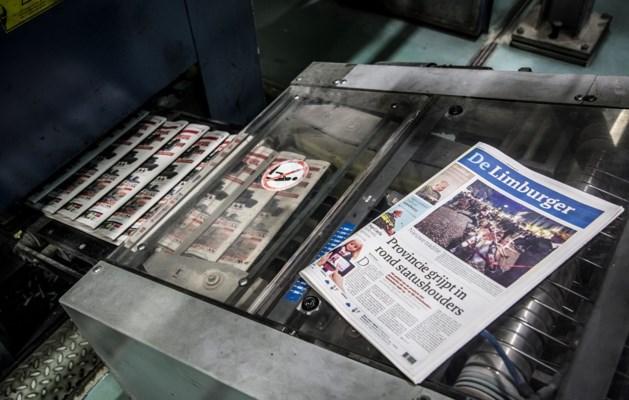 Krant onvolledig  door technische storing