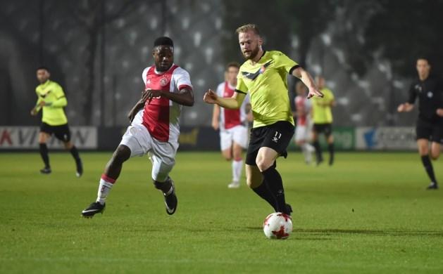 Koploper Jong Ajax loopt puntje uit op Fortuna