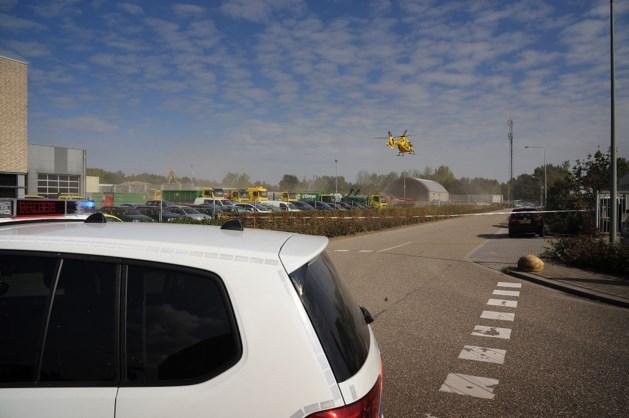 Man gewond op bedrijventerrein De Koumen in Hoensbroek
