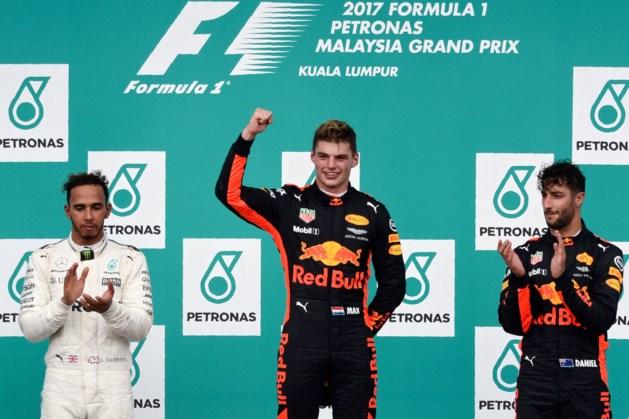 Verstappen wint GP Maleisië na soevereine race