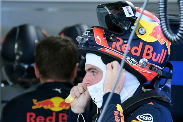 Max Verstappen niet in actie in tweede vrije training Japan