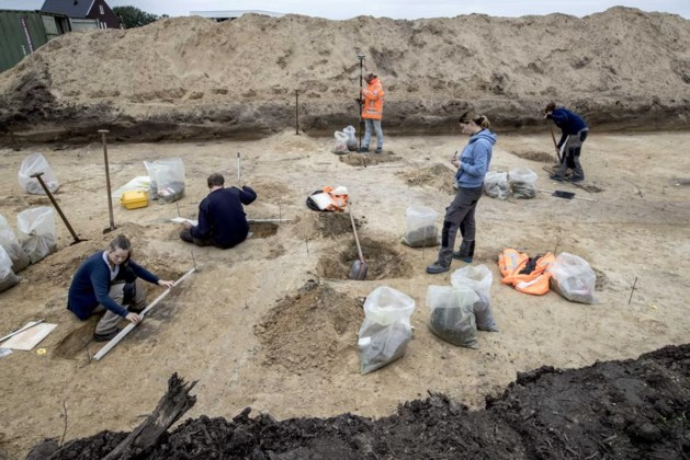 Compleet prehistorisch grafveld in Nederweert blootgelegd