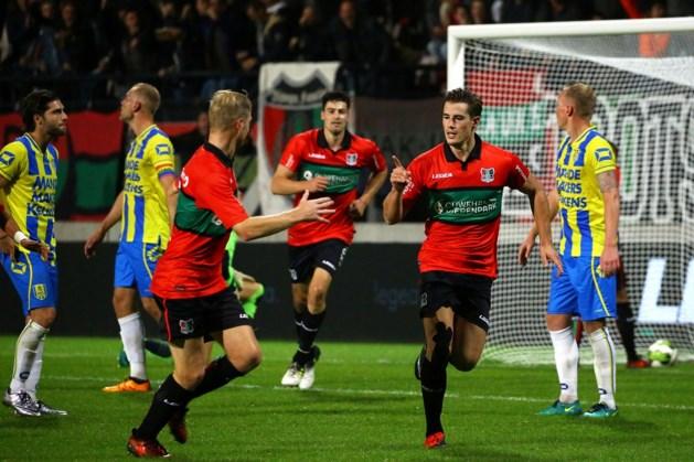 NEC-spits Sven Braken maakt einde aan doelpuntendroogte