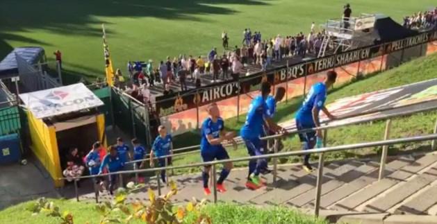 Racistische fans VVV wacht stadionverbod