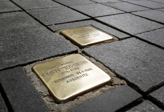 Toch subsidie voor gedenksteentjes Nazi-slachtoffers