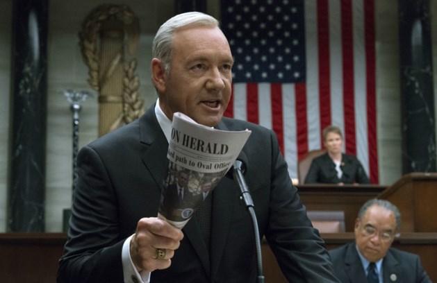 Netflix stopt met 'House of Cards' na beschuldigingen seksuele intimidatie Kevin Spacey
