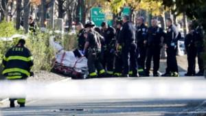 Burgemeester New York: 8 doden en 15 gewonden bij terreurdaad