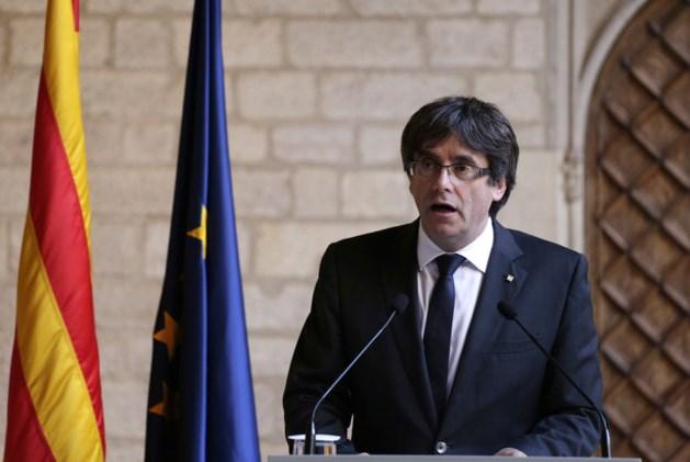 Catalaanse leider Puigdemont vraagt geen asiel aan in België