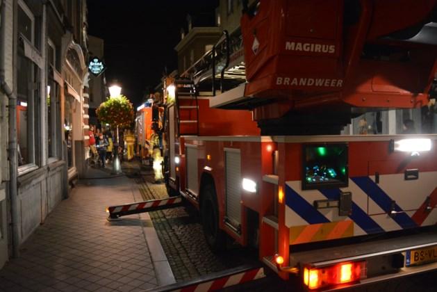 Brand in studentenhuis aan Rechtstraat in Maastricht