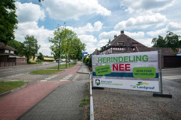 Kosten verzet fusie Landgraaf 3,5 ton